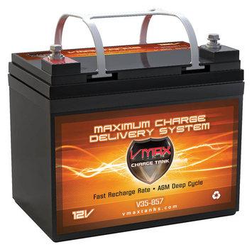 VMAX V35-857 AGM Deep Cycle Battery Replaces Motorcraft BHC-U1 GROUP U1 12V 35Ah