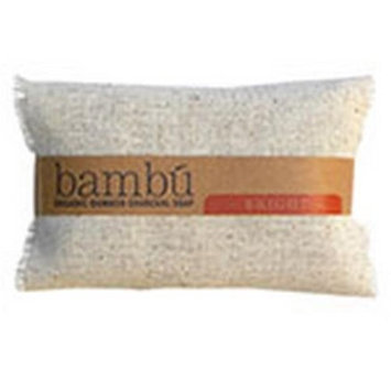 Bambu Soaps 231628 3.5 oz Citrus Blend Organic Bambu Charcoal Bright Spa Soap Set of 3