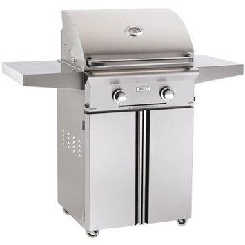 American Outdoor Grills 24 AOG Portable T Series Grill w/Burner, Rotisserie - LP
