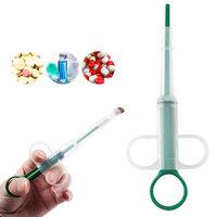 Girl12Queen Pet Dog Cat Tablet Pill Gun Piller Push Dispenser Medicine Water Syringe Feed