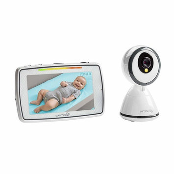 Summer Baby Pixel Video Baby Monitor with 5-inch Touchscreen and Remote Steering Camera – Baby Video Monitor with Clearer Nighttime Views and SleepZone Boundary Alerts [Monitor]