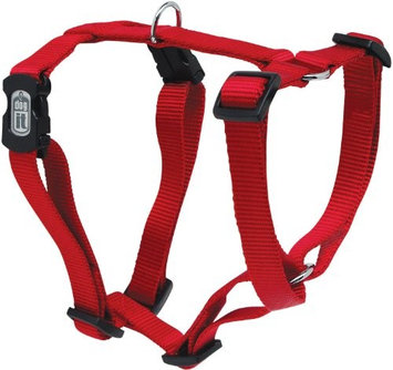 Dogit Adjustable Step In Harness Red XXS Red, Medium