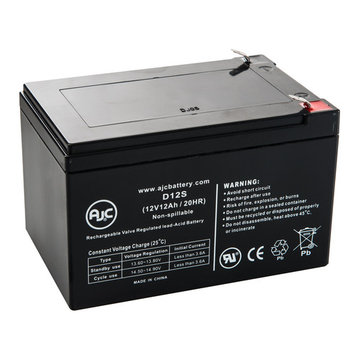 Bladez Sport (DKS200) 12V 12Ah Wheelchair Battery - This is an AJC Brand® Replacement