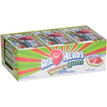 Perfetti Van Melle Airheads Gum Watermelon 14 Piece Wallet Pack - Pack of 12