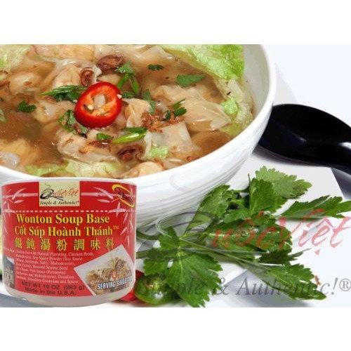 Quoc Viet Foods - Wonton Soup Base, 10 oz jar (1 unit)