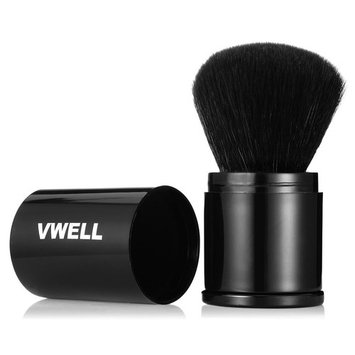 Retractable Kabuki Brush Makeup Brush for Foundation Powder Blush Cosmetic Tool by Vwell