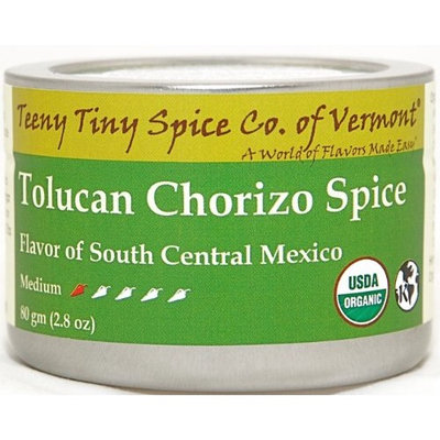 Teeny Tiny Spice Co. of Vermont Organic Tolucan Chorizo Spice