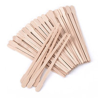 400 Packs Wax Spatulas Whaline Small Wooden Waxing Applicator Sticks Face & Eyebrows Hair Removal Sticks