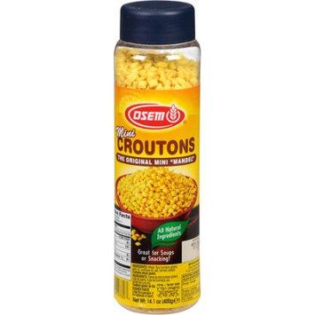 Osem Mini Croutons, 14.1 oz, (Pack of 12)