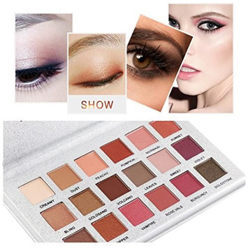 Women's Eyeshadow Palettes, Iuhan 18 Colors Eyeshadow Palette Luxury Golden Matte Nude Eye Shadow Palettes Fashion