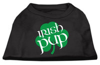 Mirage Pet Products 5160 XXXLBK Irish Pup Screen Print Shirt Black XXXL 20