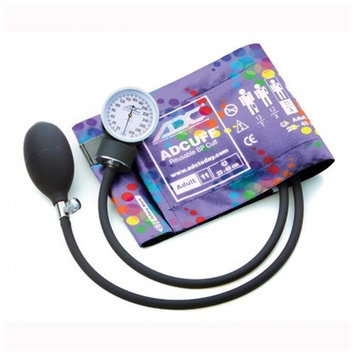 ADC 760-11APBS Prosphyg Pocket Aneroid Sphyg-Peters Blue Swirly