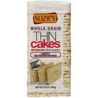 Suzie's Puffed Crackers Corn, Quinoa & Sesame Thin Cakes, 4.9 oz, (Pack of 6)