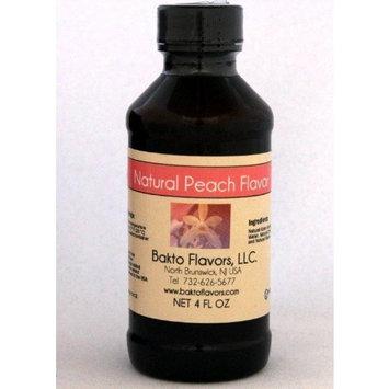 Bakto Flavors Natural Peach Flavor- 4 OZ