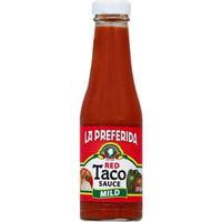 LA PREFERIDA 7495 Red Taco Salsa Mild - 7 oz.