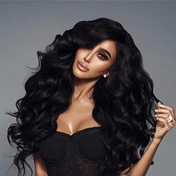 Atina Queen 250% Density Human Full Lace Wigs with Baby Hair Pre Plucked Body Wave Full Lace Human Hair Wig Remy Virgin Hair Wavy