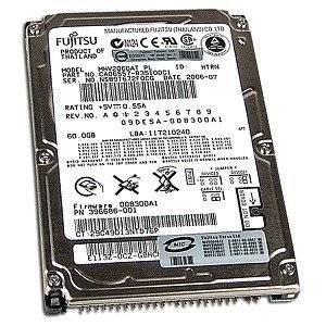 Fujitsu Toshiba Mobile 60GB 2.5 Internal Hard Drive - IDE - 4200 rpm - 8MB Buffer