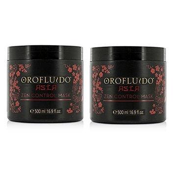 Orofluido Asia Zen Control Mask 16.9 oz/500 ml (Pack of 2)