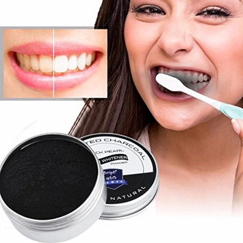 LtrottedJ Teeth Whitening Powder, Natural Organic Activated Charcoal Bamboo Toothpaste
