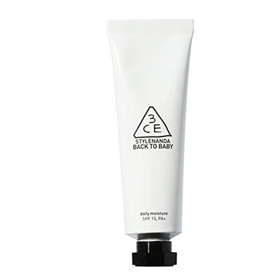 [3CE]3CE BACK TO BABY DAILY MOISTURE SPF15/PA+ 30g : Beauty