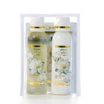 Forever Florals Hawaiian Gardenia Bath Travel/Gift Set by Forever Florals Hawaii