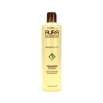 Aura Shampoo Rosemary Mint Rejuvenating 13.5 oz. (3-Pack) with Free Nail File