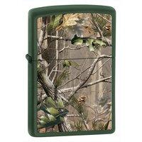 Zippo Matte Realtree APG Lighter (Green, 5 1/2x 3 1/2-Cm)