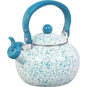 Reston Lloyd 36972 Whistling Harvest Teakettle - Turquoise Sponge