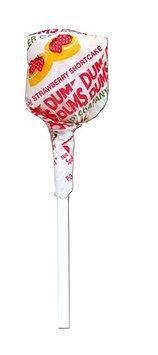 Dum Dum Lollipops, Strawberry, 1-Lb Tub