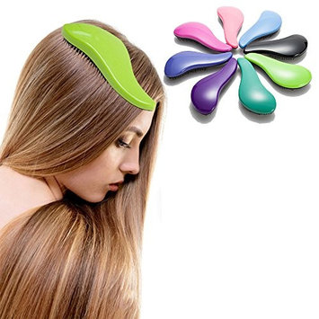 Detangling Hair Brush Magic Anti-static Brush Glide Thru Hair Comb or Brush Adults & Kids Use in straight curly hair No More Tangle 1 Pcs