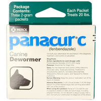 Panacur C Canine Dewormer [Options : 1 Gram]