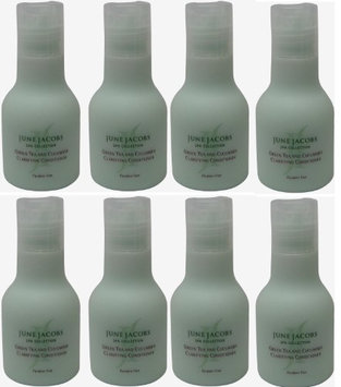 June Jacobs Green Tea and Cucumber Clarifying Conditioner Lot of 1.7oz (Pack of 8)
