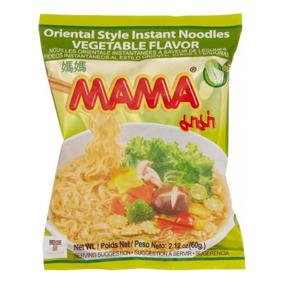 Mama, Noodle Vegetable, 60 g (Innerpack of 30)