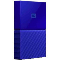 Western Dig Tech. Inc Wd - My Passport 1TB External USB 3.0 Portable Hard Drive - Blue