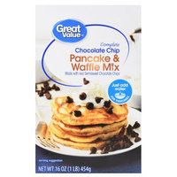 Great Value Chocolate Chip Pancake & Waffle Mix