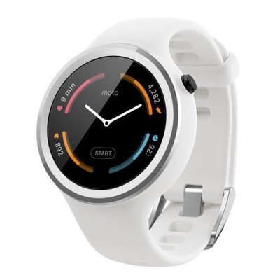 Motorola '2nd Gen' Sport Watch, 45mm - White