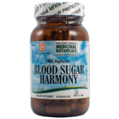 L A Naturals Blood Sugar Raw Formula 90 VGC