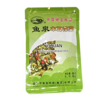 Fish Well Preserved Vegetable With Black Fungus 2.9 Oz