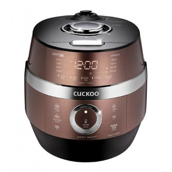 Cuckoo CRP-JHSR0609F 120 V Stainless LCD Display Electric Pressure Rice Cooker 10 Cups