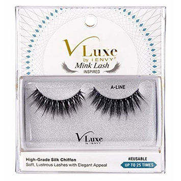 Kiss Vluxe Silk Chiffon Lashes A-Line (2 Pack)