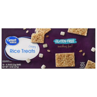 Wal-mart Stores, Inc. Great Value Gluten-Free Crispy Rice Treats, 10 Count