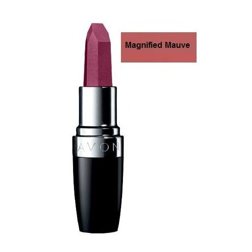 Avon Ultra Color Rich Mega Impact Lipstick Magnified Mauve