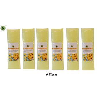 Paraffin Wax Refill Spa Antibacterial Liquid Treatment 16 fl. oz. Lemon 6 PIECE
