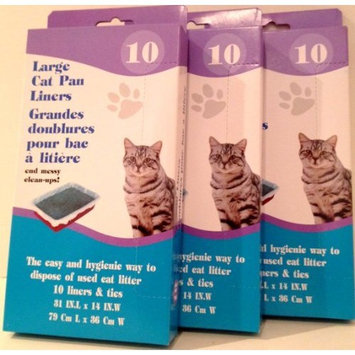 Large Cat Pan Liners