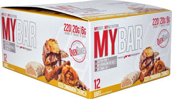 Pro Supps MyBar™ Iced Cinnamon Crunch - 12 Bars pack of 4
