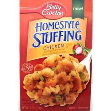 Betty Crocker, Homestyle Stuffing, Chicken, 6oz Box (Pack of 5)