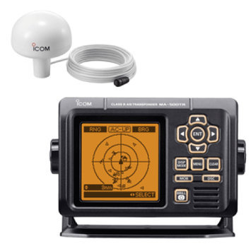 ICOM MA500TR KIT AIS Transponder Kit, VHF, LCD, With GPS