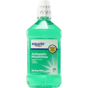 Equate Spring Mint Mouthwash 50.7 Oz