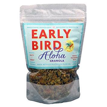 Early Bird Granola - Aloha Recipe with Mango & Macadamias 12 oz - Pack of 3 [Mango and Macadamias]