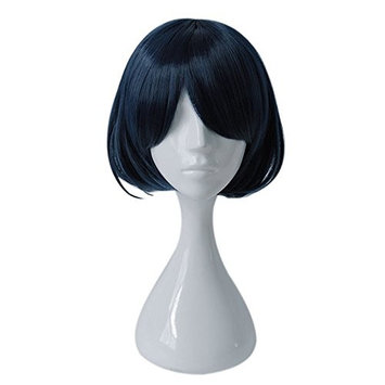 Mcoser Dark Blue SINoALICE Anime Short Alice Cosplay Short Wig